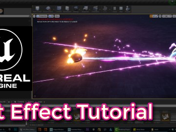 Unreal Engine Hit Effect Tutorial