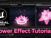 Unreal Engine Flower Effect Tutorial