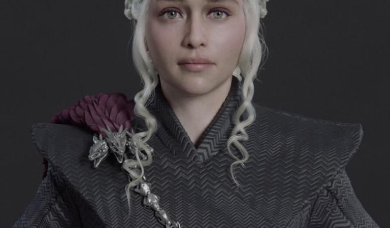 Tyrion Lannister and Daenerys Targaryen shared by Marlon R. Nunez