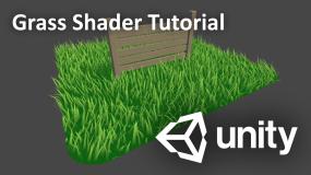 Unity Engine Grass Shader Tutorial