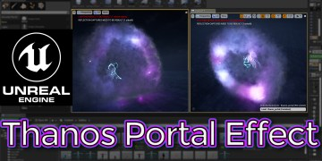 Unreal Engine Thanos Portal Effect Tutorial