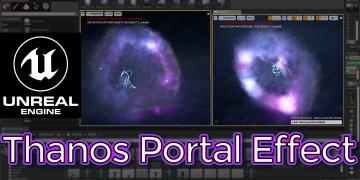 Unreal Engine Thanos Portal Effect Tutorial