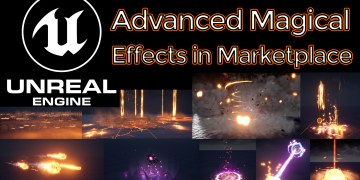 Unreal Engine Advanced Magical Effects in Marketplace