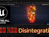 Unreal Engine Ironman Disintegration Effect Tutorial