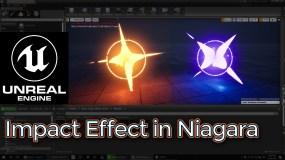 Unreal Engine Impact Effect in Niagara