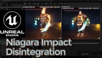 Hit Blood Impact | Unreal Engine Niagara Tutorial | CGHOW