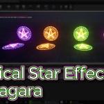 Unreal Engine Magical Star Effect in Niagara