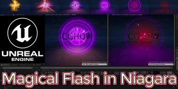 Unreal Engine Magical Flash in Niagara Tutorial