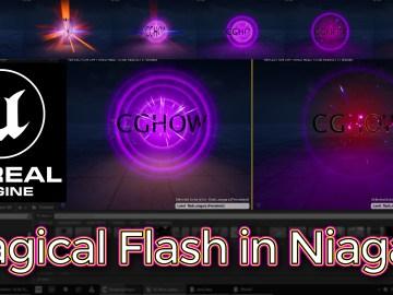 Unreal Engine Magical Flash in Niagara Tutorial