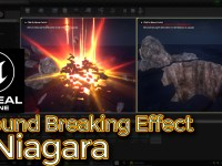 Ground Breaking Effect | Unreal Engine Niagara Tutorial