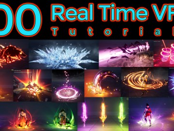 100 Real Time VFX Tutorials