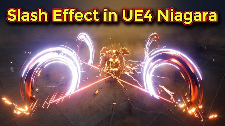 Unreal Engine Niagara Tutorial | Slash hit Effect