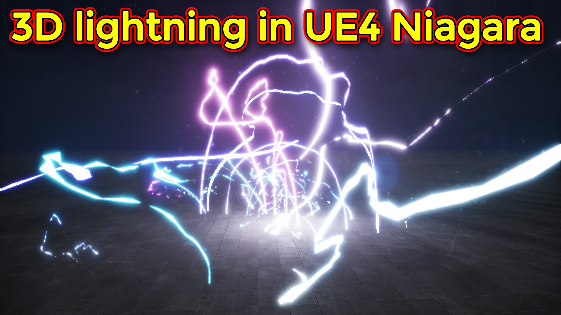 3D Lightning | Unreal Engine Niagara Tutorial
