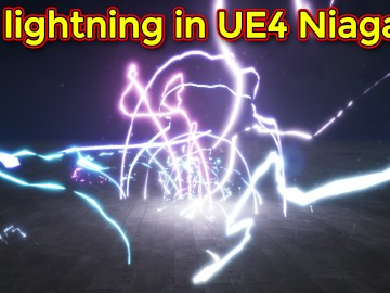 3D Lightning | Unreal Engine Niagara Tutorial