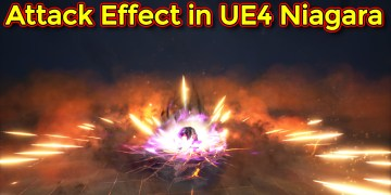 Attack Effect | Unreal Engine Niagara Tutorial
