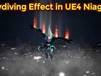 Skydiving Effect | Unreal Engine Niagara Tutorial