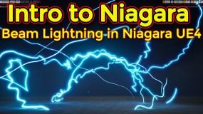 Intro to Niagara | Creating Beam Emitter | Unreal Engine Niagara Tutorial