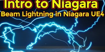 Intro to Niagara | Creating Beam Emitter | Unreal Engine Niagara Tutorial