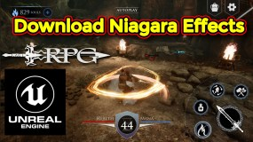 Action RPG Game – Download Niagara Effect in Unreal Engine