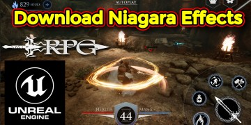 Action RPG Game - Download Niagara Effect in Unreal Engine