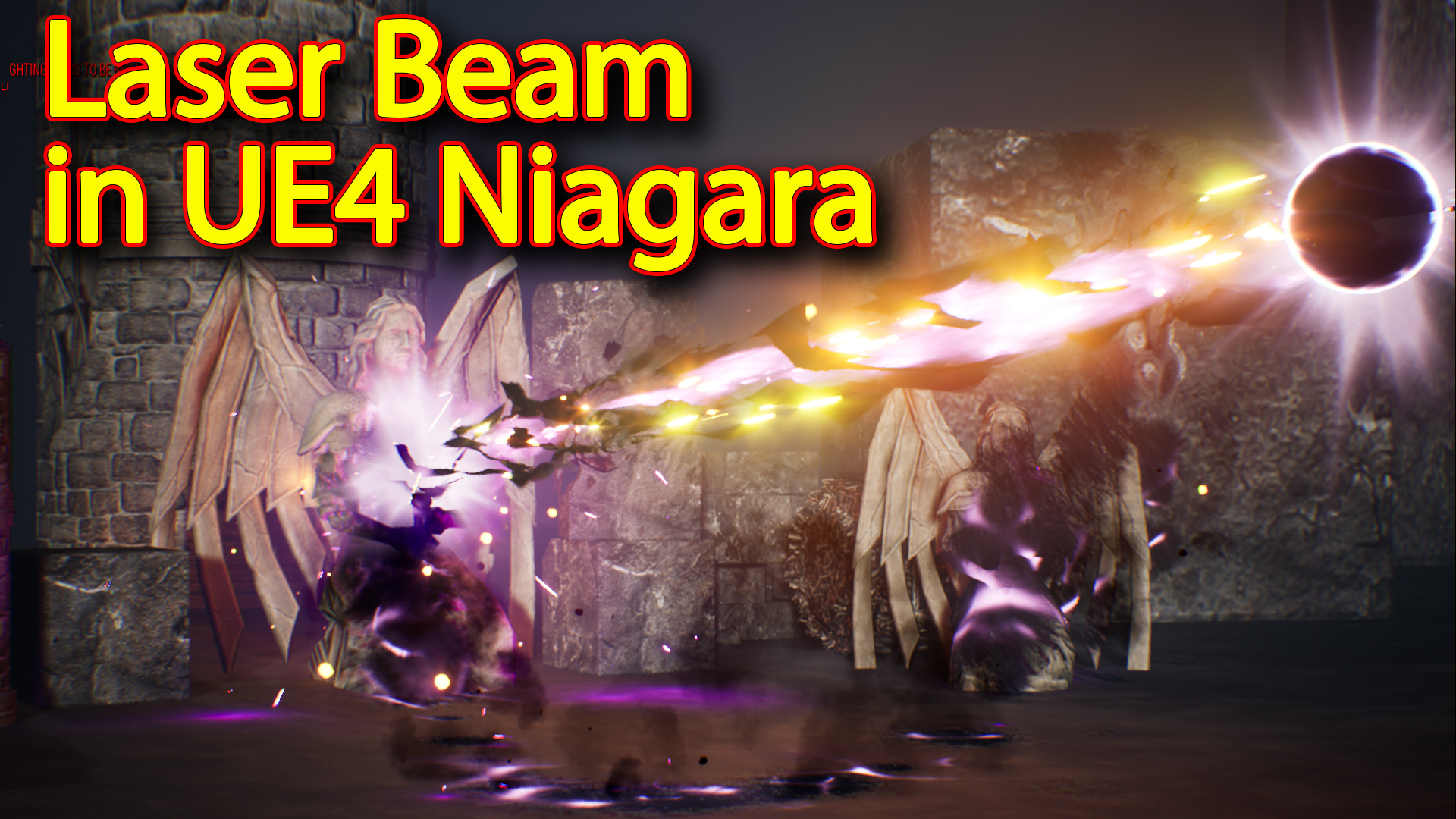 Laser Beam Effect | Unreal Engine Niagara Tutorial