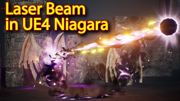 Laser Beam Effect | Unreal Engine Niagara Tutorial