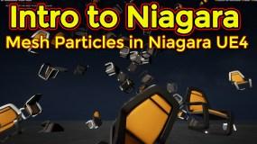 Intro to Niagara | Creating Mesh Particle Emitter | Unreal Engine Niagara Tutorial