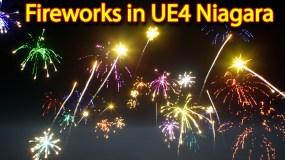 Fireworks | Unreal Engine Niagara Tutorial