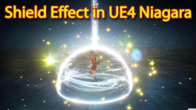 Shield Effect | Unreal Engine Niagara Tutorial | UE4 Niagara Shield
