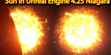 Sun | Unreal Engine Niagara Tutorials | UE4 Niagara Sun