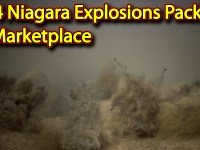 UE4 Niagara Explosions Pack 02 in Marketplace