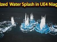 Stylized Water Splash | Unreal Engine Niagara Tutorials | UE4 Niagara Water Splash