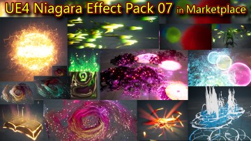Unreal Engine Niagara Effects Pack 07 in Marketplace