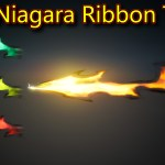 Ribbon Trails | Unreal Engine Niagara Tutorials | UE4 Niagara Ribbon Trails
