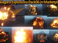 Unreal Engine Niagara Explosions Pack 06 in Marketplace