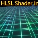 Grid HLSL Shader in UE4 Material Custom Node