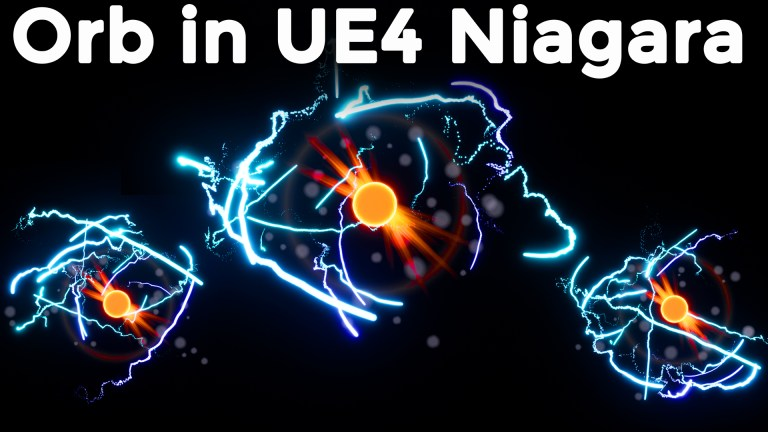 Orb in UE4 Niagara Tutorial