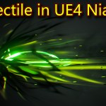 Projectile Effect | UE4 Niagara Tutorials