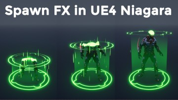 Spawn Fx in UE4 Niagara Tutorial