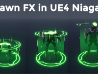 Spawn Fx in UE4 Niagara Tutorial