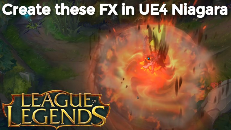 UE4 Niagara Tutorials | | League Of Legends | Download Project Files