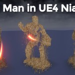 Sand Man in UE4.26 Niagara | Download Project Files
