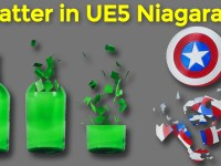 Shatter in UE5 Niagara Tutorial | Download Project Files