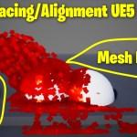 Sprite Facing/Alignment to Collision mesh in UE5 Niagara Tutorial | Download Files