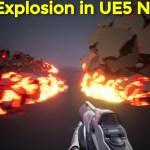Cartoon Explosion in Unreal Engine 5 Niagara Tutorial | Download Files