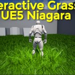 Interactive Grass in UE5 Niagara Tutorial | Download Project Files