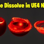 Particle Dissolve in UE4.27 Niagara | Download Files