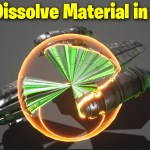 Sci-fi Dissolve Material in UE4.27 | Download Files