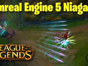 League of Legends Multiple Arrow Projectile in UE5 Niagara | Download Files