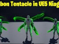 Ribbon Tentacle in UE5 Niagara Tutorial | Download Files